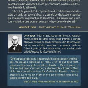 As Aventuras do Capitão José Bates (contracapa)